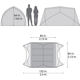 Therm-a-Rest Tranquility 4 Tent Green